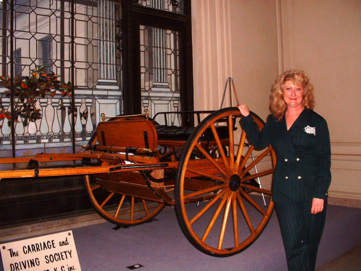 Robyn Walker with Meadowbrook Cart