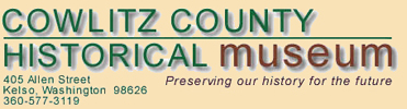 Cowlitz County Historical Museum Logo