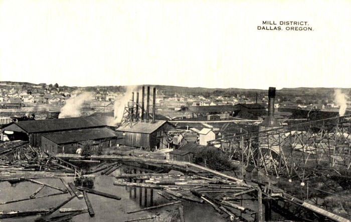 Mill District, Dallas, Oregon