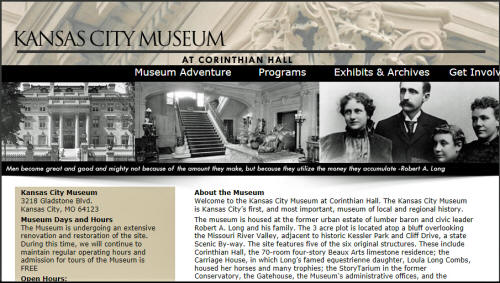 Kansas City Museum at Corinthian Hall