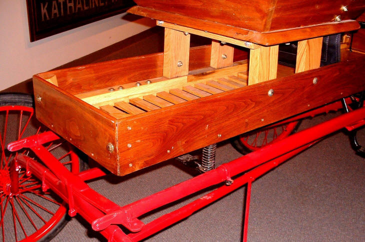 Loula's Restored Practice Cart Found in Longview Barn