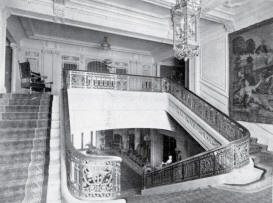 Stairway and great hall