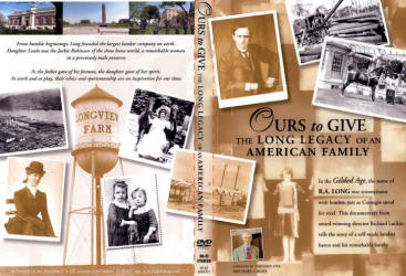 "DVD case cover of ""Ours to Give - The Long Legacy of an American Family"""